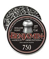 14020 : Benjamin® Hollow Point .177 cal. 7.9 gr 750 count