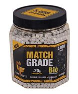 20GBW5J : Game Face™ Airsoft Ammo 5,000 Ct. BB 6mm 20g Biodegradable