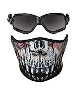 80009 : Forceflex® Predator Mask, Goggles & Reversible Lightweight Neoprene Mask