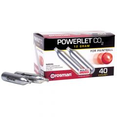 CC40PB : 40 Count CO2 Powerlet (Paintball) Powerlet 40 Count CO2