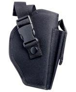 CPHBPDQ : Pistol Holster (black) PDQ Adjustable Pistol Holster in PDQ (4 units per PDQ)