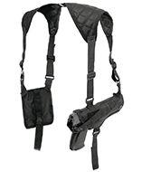 CSHB : Shoulder Holster (black) Adjustable side straps, fits most handguns