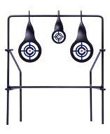 CSLT : Crosman Logo Spinning Target Portable All Metal - 2 Target Sizes 6mm