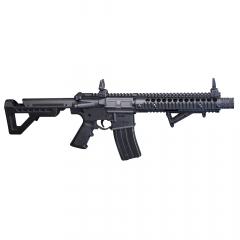 DSBR : DPMS SBR Full Auto (Black) CO2 Powered, Full Auto  BB Air Rifle