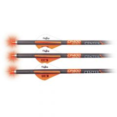 AXCP4SLN3PK : CP400 Select Carbon Arrow  Three Pack 400-Grain 20-Inch Carbon w/ Orange Lighted Nock