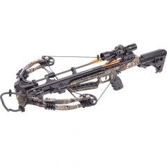 "AXCD190FCK.1 : Dagger 390 Compound Crossbow 3x20"" carbon arrows 4x32mm scope quiver l& rope cocke"