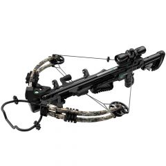 AXCSEW385FCK : Sniper Elite™ 385 Compound Crossbow w/ 4x32 Scope Quiver & Rope Cocker & rail lube