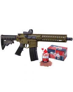 CFARKIT : *Special Edition Kit* Rifle, Full Auto R1 w/ Red dot , CO2 & BBs.