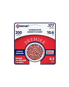 CPD77 : Copper Magnum Premier™ Domed Pellet 200 Count .177