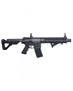 DSBR : DPMS SBR Full Auto (Black) CO2 Powered, Full Auto  BB Air Rifle