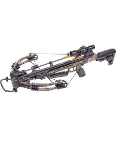 "AXCD190FCK : Dagger 390 Compound Crossbow 3x20"" carbon arrows 4x32mm scope quiver lube & rope cocker"