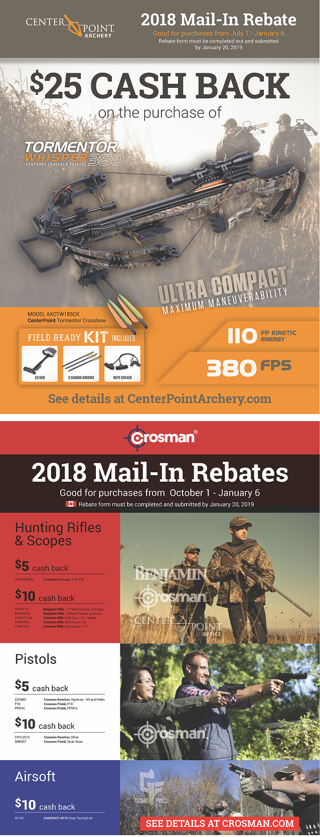Rebates & Promotions