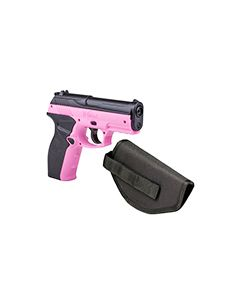 P10PNKKT : P10 Wildcat Kit Co2 Powered BB Pistol W/ holster 4.5mm cal. 480 Fps - Pink